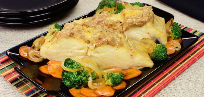 Bacalhau especial gratinado