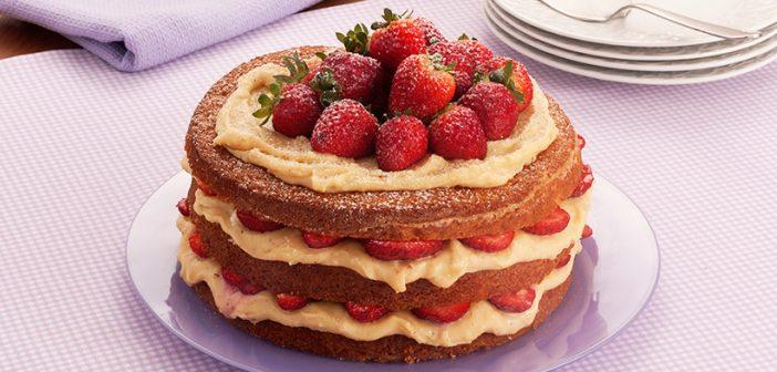 Naked cake da vovó